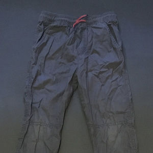 OshKosh Gray Drawstring Cargo-Style Casual Pants